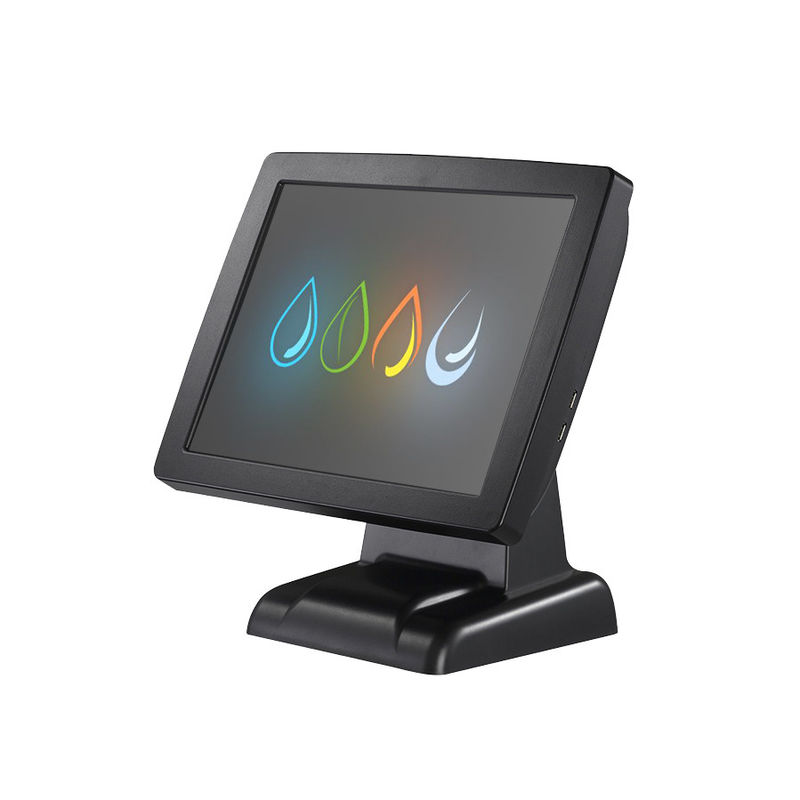 15'' Touch Screen Pos Computer System Capacitive Optional With Barcode Scanner