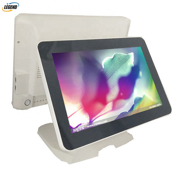 400cd/㎡ Touch Dual Screen Pos Terminal System 1024 X 768 Pixels Epos All In One